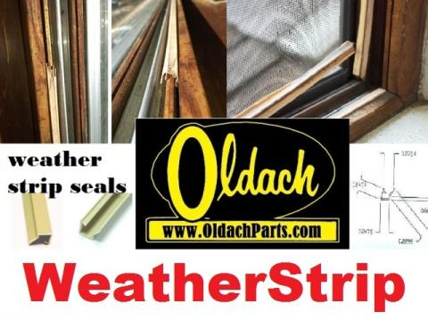 For all your Oldach window and door parts needs - and FREE ONLINE PARTS ID HELP!